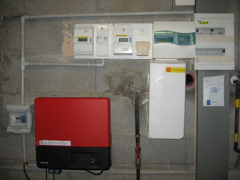 Solaire photovolta que en beaujolais 2009 janvier - Compteur de production photovoltaique ...